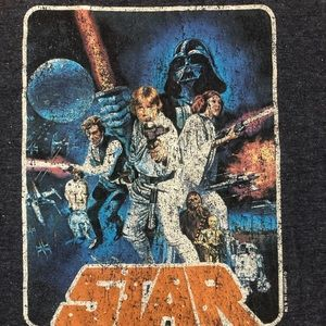 Star Wars Shirts - NEW Star Wars Original Logo Tee Shirt Darth Vader